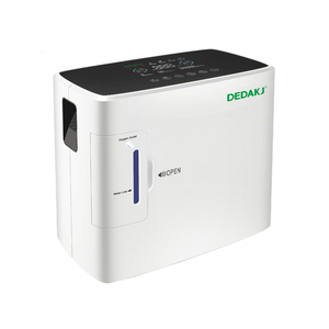 DEDAKJ DE-1S AC110V/220V Portable Oxygen Concentrator Generator Machine 1-6L/min 30-90%  Home Adjustable High Quality
