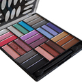 New Women 27 Color Matte Eyeshadow Palette Waterproof Natural Glitter Cosmetic Naked Makeup Free Shipping I054
