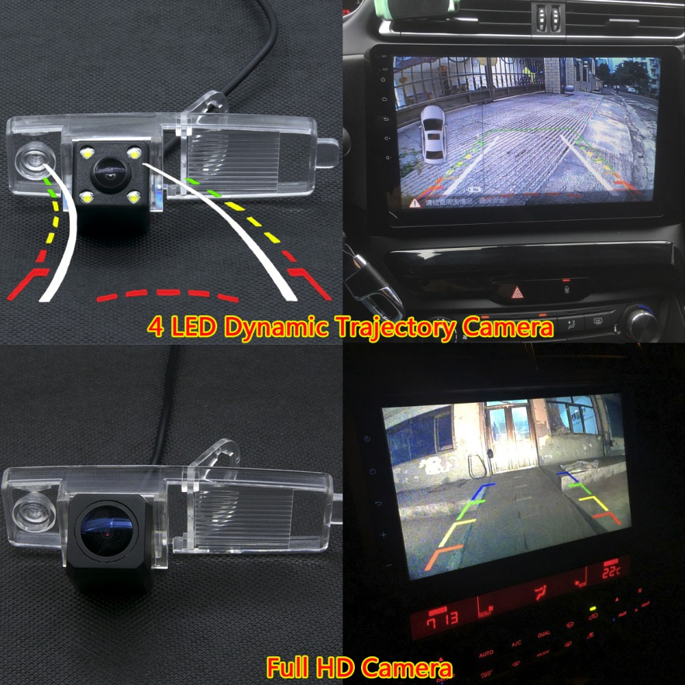 Ccd Led Backup Rear View Camera For Toyota Highlander 2002 2003 2004 2006 2007 2008 2009 2010 2017 Kluger Car Monitor In Vehicle From