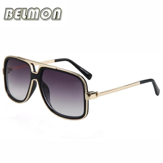 c86fdd90071ff5 BELMON Mode lunettes de Soleil Hommes Femmes 2018 De Luxe Tendance Marque  Designer Lunettes de Soleil ...