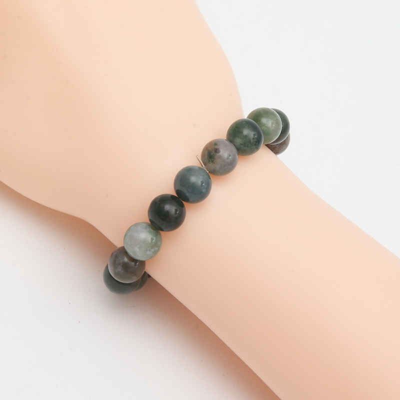 SUIT Charm Natural Stone Bracelets for Women Men Bracelet India Beads Bracelets & Bangles Gift Trendy Polished Love Jewelry