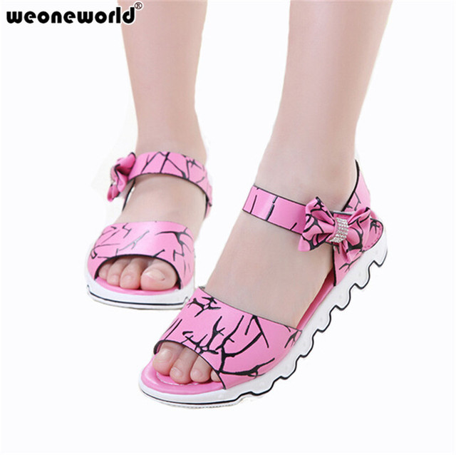 Pink leather 'Lovely' sandals cheap sale 2015 new store sale online Yr8Ip0Pc