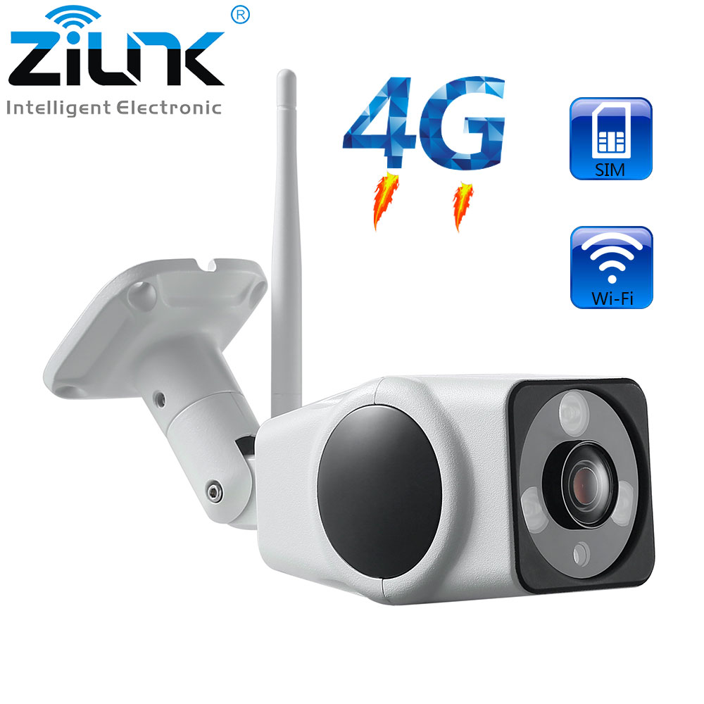 3G 4G Camera Sim Card 2MP 1080P HD Outdoor Wireless Wifi IP Camera Security Bullet Waterproof Surveillance CCTV Camera-in Surveillance Cameras from Security & Protection