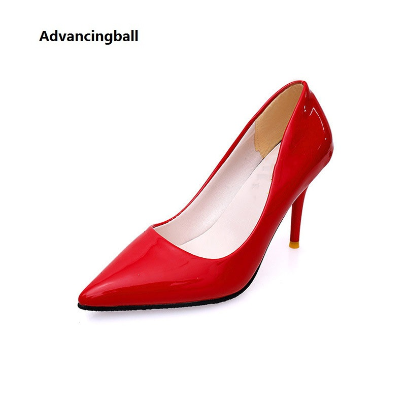 2016 new fashion shoes woman snake patent leather sexy casual style flower shallow mouth women flats rhinestone women s shoes 2017 new Women's Pumps Sexy fashion Wedding Shoes Patent leather shallow Women High Heels Woman Thin Heels Ladies Shoes