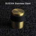 Высококачественный твердый дверной стопор SUS304 из нержавеющей стали  1 шт./2 шт./6 шт.  мощный напольный дверной держатель  резиновые Упоры для ...