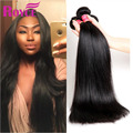 7A Malaysian Virgin Hair Straight Unprocessed Virgin Malaysian Human Hair Straight 4 Bundles Deals Top Quality Straight Weave