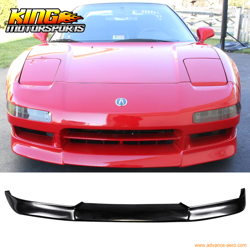 For 91 97 Acura NSX JDM Style Front Bumper Lip Unpainted