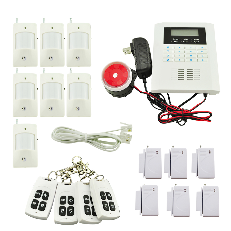 Hot !! Wireless GSM Autodial SMS Home House Office Security Burglar Intruder Alarm стоимость
