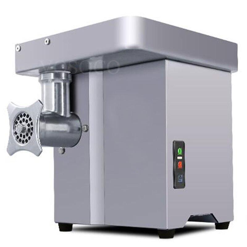 meat grinder mangler meat mincer Stainless steel table electric mincing machine meat chopper shredder 1100W 220V