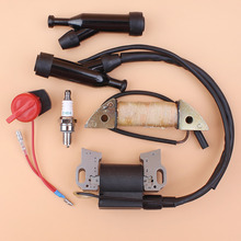 Charging Coil Ignition Magneto Cap Stop Switch Kit For Honda GX270 GX240 GX390 GX340 Engine E7500 E6500 Generator Water Pump
