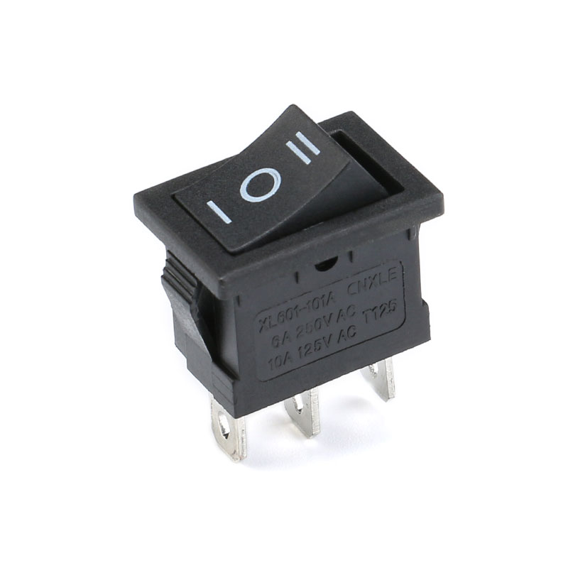 1PCS KCD1 2PIin 3Pin Boat Car Rocker Switch 6A10A 250V125V AC Red Yellow Green Blue black Button Best Price KCD1 (2)