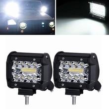 Bakuis светодиодный свет работы 4 дюймов комбинированный свет 60 Вт offroad 4×4 Светодиодный Spot Наводнение вождения Работа свет для Jeep ATV внедорожник Грузовик Лодка 12 В 24 В