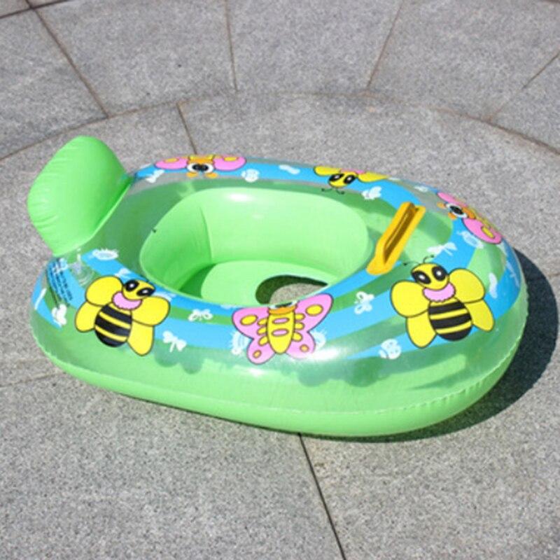 1 piece Summer kids baby Swim pool Hollow Swim Ring Cartoon Float Swimming pool random Color