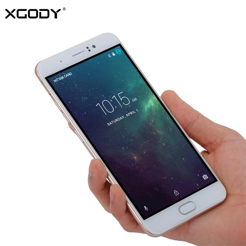 XGODY Y16 4G LTE Smartphone 6 Inch Android 6.0 MTK6737 Quad Core 1+8GB 13.0MP 1280*720 GPS Dual SIM Unlock Mobile Phone Celular