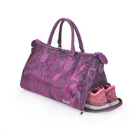 Sports Gym Bag with Shoes Compartment Travel Duffel Bag for Men and Women Waterproof sport bags
