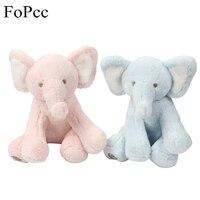 FoPcc Rosa e Blue Elephant Peluche Peluche Del Fumetto Giocattoli per Bambini per Ragazze Bambini Bambino Placare Bambole Regalo Di Compleanno