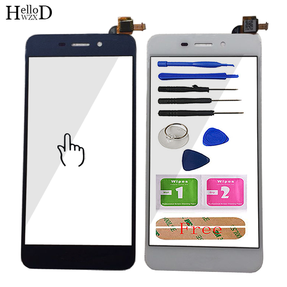 Mobile Front Panel Touch Screen For Huawei Honor 6C Pro JMM-L22 Touch Screen TouchScreen Phone Sensor Parts Digitizer Panel