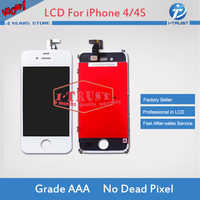 DHL Free Shipping For IPhone 4 CDMA LCD Display+ Touch Screen Glass Digitizer+Frame Complete Replacement Assembly Brand New