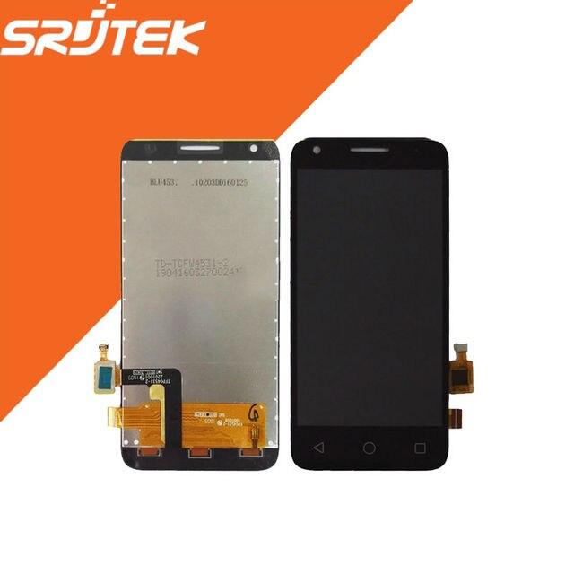 Nova 4.5 ''para alcatel one touch ot5017 5017 5017e 5017a 5017B 5017D Display LCD + Touch Screen digitador Assembléia Completa 1024x768