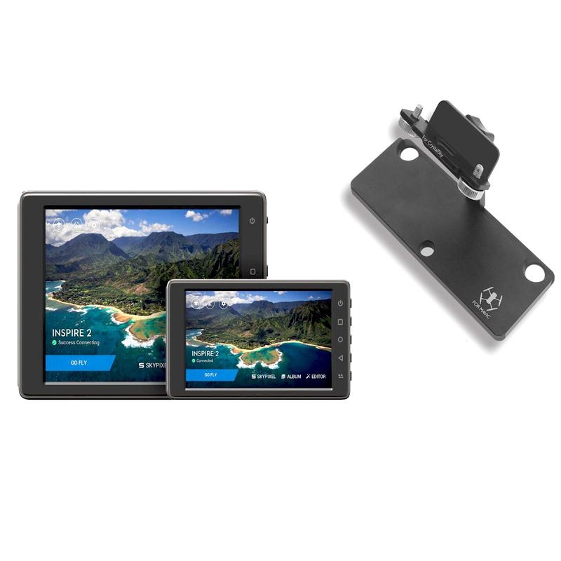 Sunnylife Mavic Pro 5.5 7.85 inch CrystalSky Monitor Holder Extension Aluminum Bracket Tablet Mount for DJI Spark Remote Control (6)