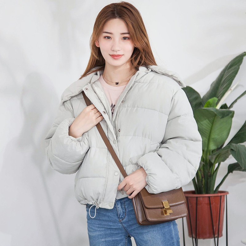 2018 Autumn Winter Plus Size Short   Down     Coats   Fashion Hooded Thicken Warm   Down   Jacket Female 90% White Duck   Down   Jackets FP1211