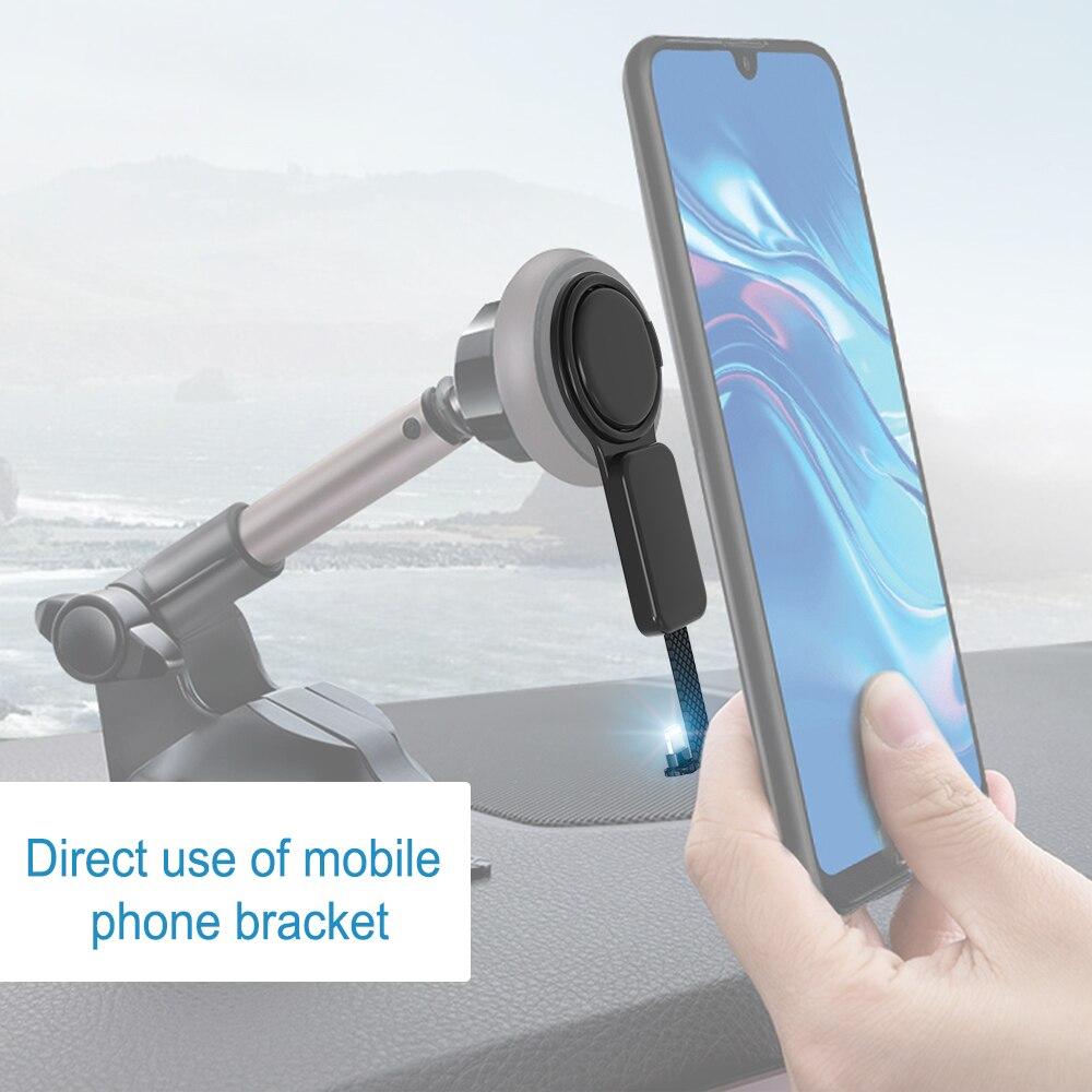 5X USB C до 3,5 мм аудио зарядное устройство Регулировка держатель телефона OTG двойные адаптеры и кольцевой держатель быстрая зарядка для смартфона type C Android - 4