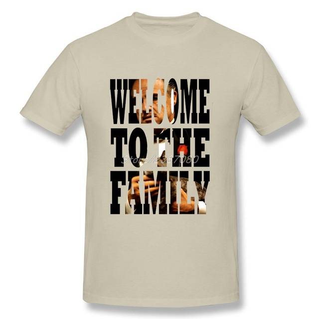3de28633da placeholder Fashion Welcome To The Family T Shirt Lol Brand-clothing Cotton  3XL Short Sleeve The