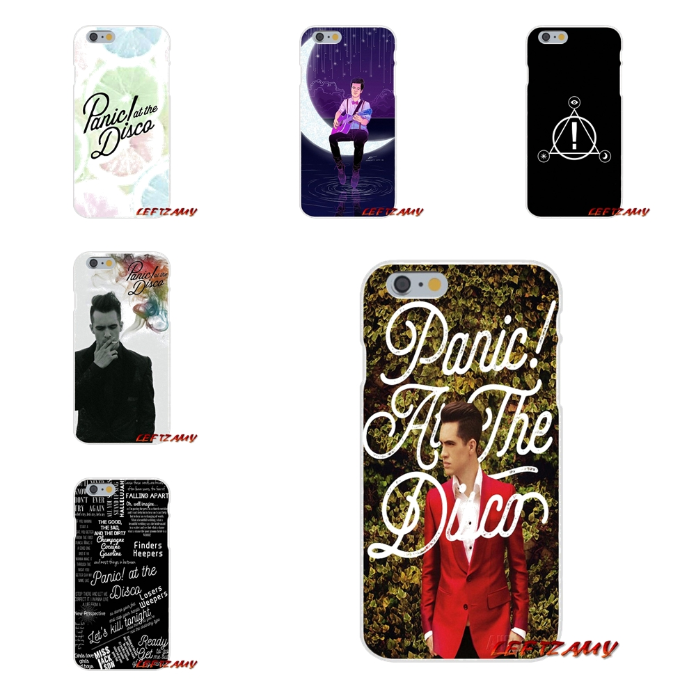 Panic At The Disco For Sony Xperia Z Z1 Z2 Z3 Z4 Z5 compact M2 M4 M5 E3 T3 XA Aqua Accessories Phone Shell Covers