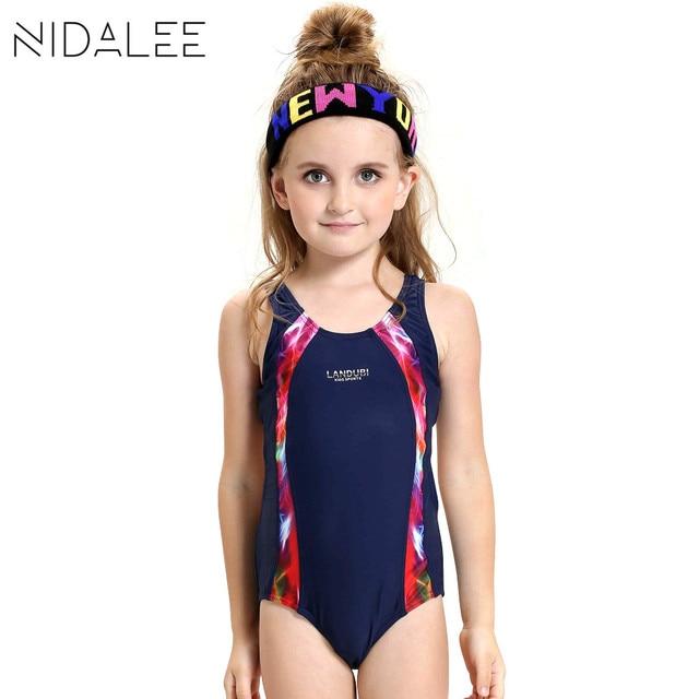 670e64d985428 Children Swimwear Bathers Lovely Girl Sport Swimsuit 2017 Kids One Piece  Swimmer Girls Bathing Suit Infantil Swimwear for Girls