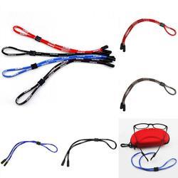 Lunettes de soleil Sport lunettes de soleil coton cou chaîne cordon sangle de retenue lunettes porte-lanière 4 couleurs corde chaîne Accessoires