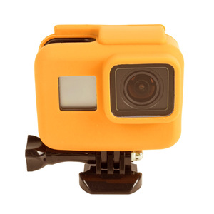Image 4 - 2000X Soft Rubber Silicone Protective Housing Case for GoPro Hero 6 5 Sport Camera Skin Cases Gopro hero 5 Cover Fundas Coque