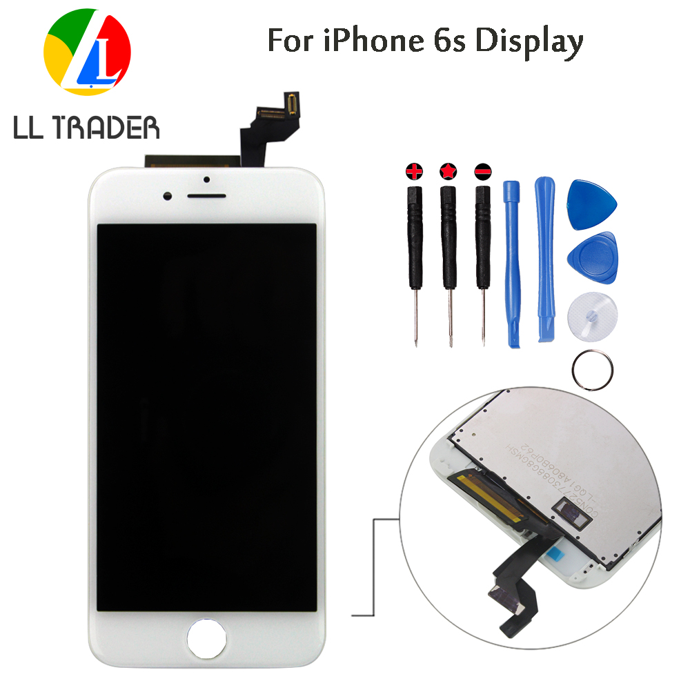 LL TRADER AAA LCD Screen For iPhone 6s Screen Replacement Display Digitizer 4.7 inch Touch Assembly No Dead Piexl+With Frame image
