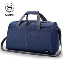 Scione Оксфордские дорожные сумки через плечо для ноутбука, тканевые багажные сумки через плечо для мужчин и женщин, Водонепроницаемые многофункциональные большие сумки