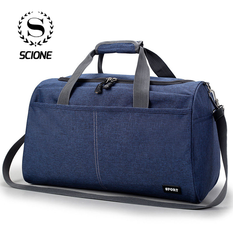 Scione Oxford Travel Shoulder Bags Laptop Cloth Luggage Crossbody Bags For Men Women Waterproof Multifunction Large Handbag