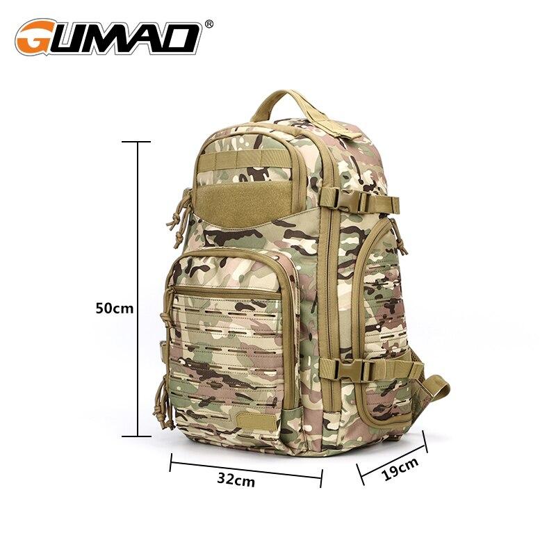 1000D Laser coupe Molle en plein air tactique sac à dos utilitaire sac à dos militaire armée chasse Trekking Camping randonnée voyage - 4