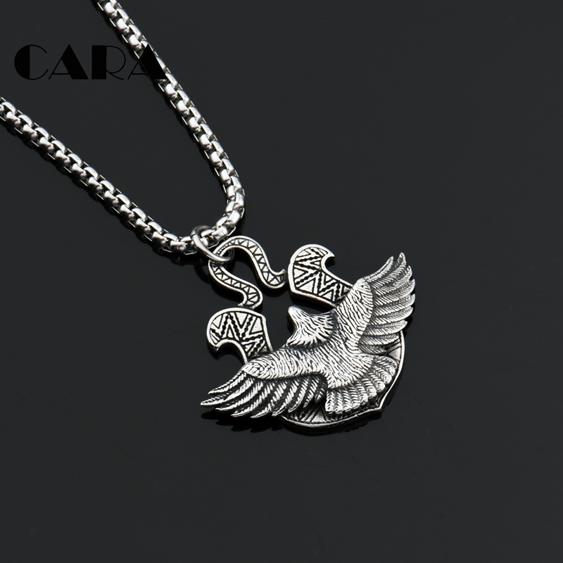 Buy polish eagle necklace and get free shipping on aliexpress mozeypictures Images