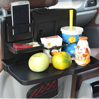 Free Shipping Portable Car Seat Tray Mount Meal Desk Stand Drink Cup Holder Multi Tray Food