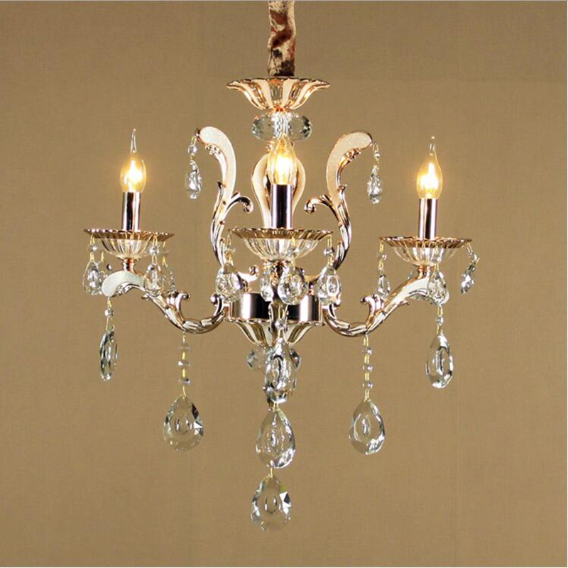3 arms luxury k9 crystal chandelier light lustres de teto lights fixtures chandeliers - Chandeliers for kitchen ...