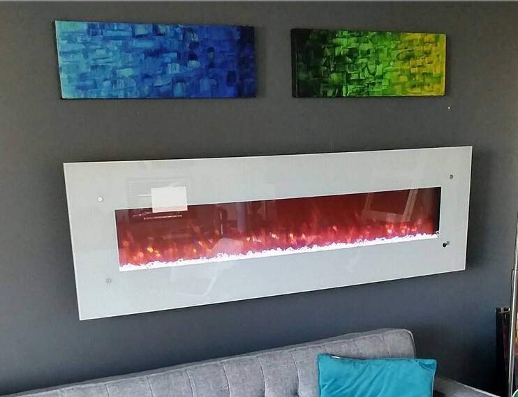 Popular Wall Electric Fireplaces-Buy Cheap Wall Electric ...