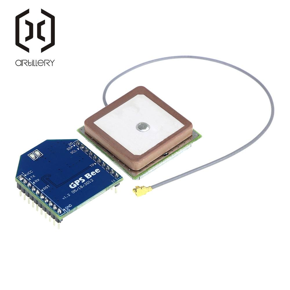GPS Bee / GPS Module / Compatible Bee Feet / GPS Ceramic Antenna