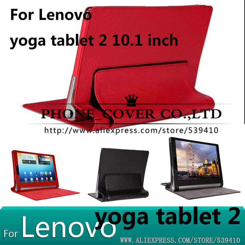 Luxury PU leather case For lenovo yoga tablet 2 10.1 1050f 1050 1051 1051f tablet cover case + Screen protectors ultra thin smart flip pu leather cover for lenovo tab 2 a10 30 70f x30f x30m 10 1 tablet case screen protector stylus pen
