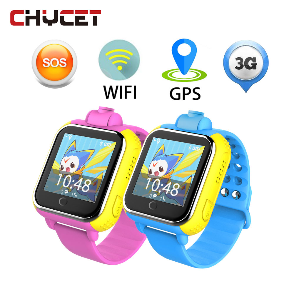 Chycet JM13 Q730 Smart Watch for kids Children Wifi 3G tracker safe SOS Monitor Camera GPS Location Touch Screen for IOS Android lemado v12 gps sport smart watch for children 1 22 touch screen support 32g tf card vibration sos kids safe tracker with camera