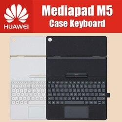 Oficial 100% Original de 10,8 pulgadas HUAWEI MediaPad M5 Pro Teclado de cuero Flip Cover