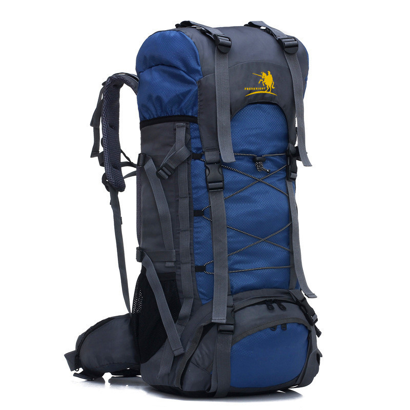 Free Knight 60L Camping Hiking Backpack Sports Bag Outdoor Waterproof Large  Capacity Travel Bag For Men 5bbcee001bcce