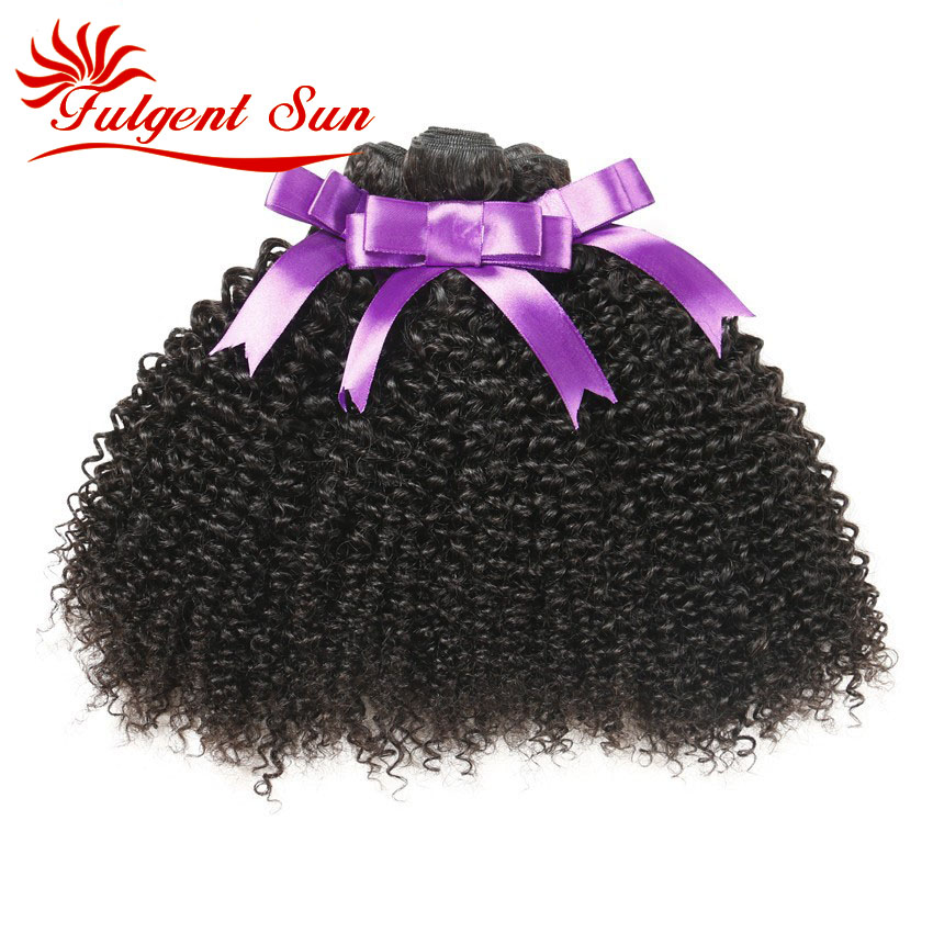 7A GRADE Unprocessed Brazilian Kinky Curly Virgin font b hair b font weaves 3pcs Brazilian jerry