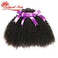 7A GRADE Unprocessed Brazilian Kinky Curly Virgin hair weaves 3pcs Brazilian jerry curl virgin hair afro kinky curly virgin hair