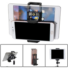 Besegad Mobile Phone Tripod Adapter Selfie Sticks Mount Bracket Stand Holder for iphone Xiaomi