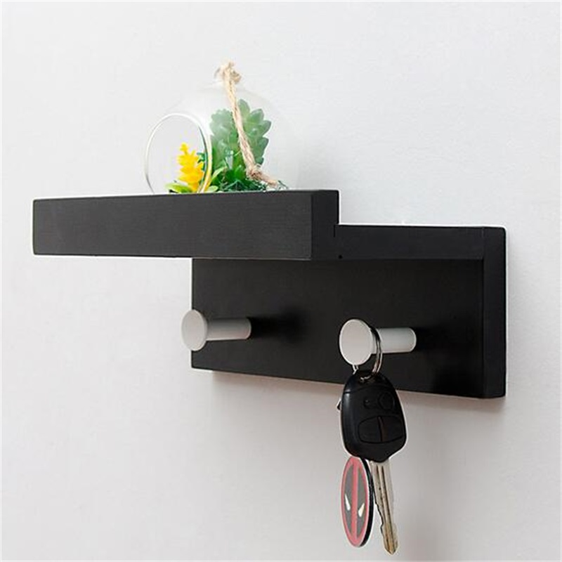 High quality Wall commodity shelf Wall mounted hook Wall bracket succulent shaped wall mounted hook