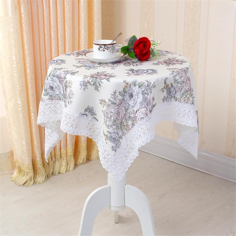 idyllique petit floral nappe nappes europenne table basse bureau dordinateur table ronde nappes en - Nappe Ronde Mariage