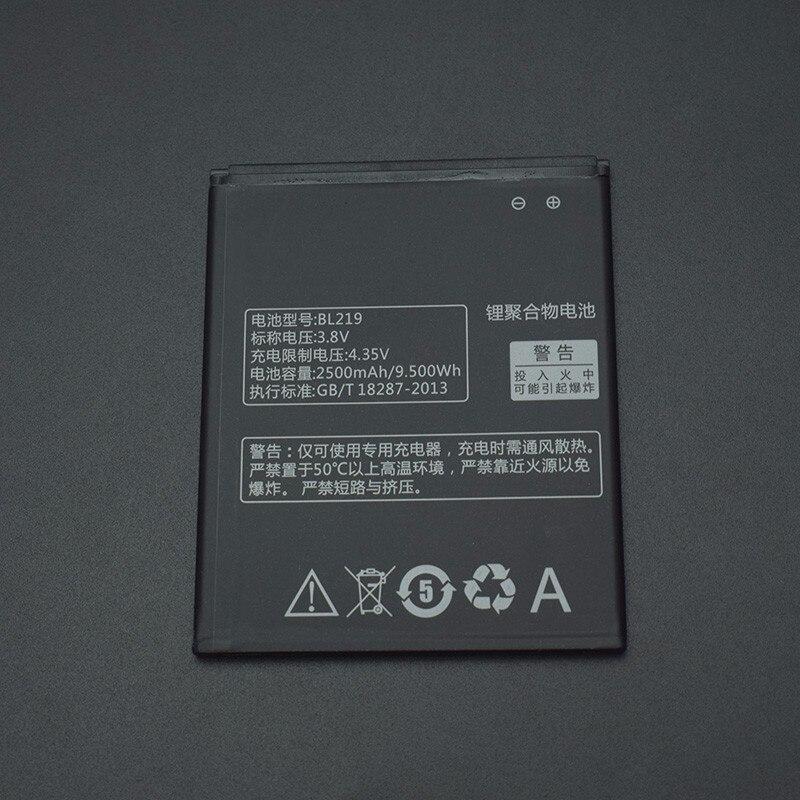Для <font><b>Lenovo</b></font> A880 Батарея 2500 мАч bl219 Батарея Замена для <font><b>Lenovo</b></font> A880 s856 A889 a890e s810t A850 + <font><b>A916</b></font> smart телефон